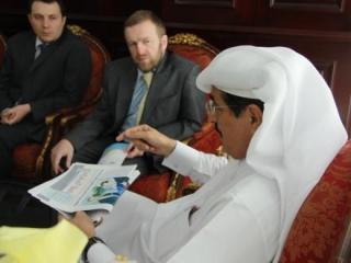 Встреча российской делегации с министром культуры Катара