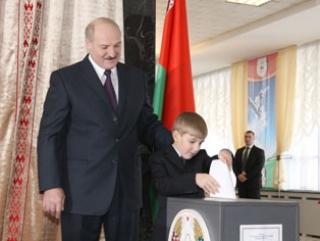 Лукашенко вновь избран президентом Белоруссии