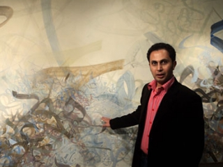 В Испании появилась самая большая фреска с арабской каллиграфией