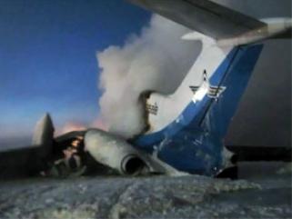 ТУ-154 взорвался в Сургуте. Есть жертвы