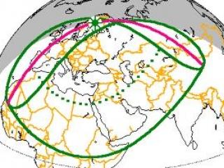 Москвичи могут наблюдать солнечное затмение