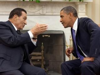 Президент США успокоил по телефону взволнованного Мубарака