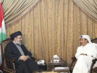 """Глава МИД Турции и премьер Катара провели переговоры с лидером """"Хезболлах"""""""