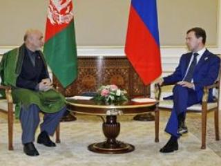 Медведев и Карзай встретились в Кремле