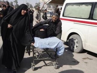 Взрывы в Кербеле. Десятки людей убиты