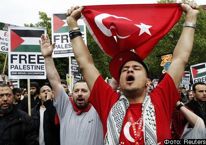 Народ Турции выразил солидарность с египтянами