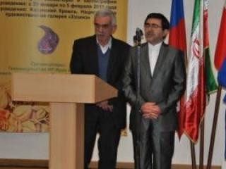 В Казанском кремле открылась выставка иранского искусства