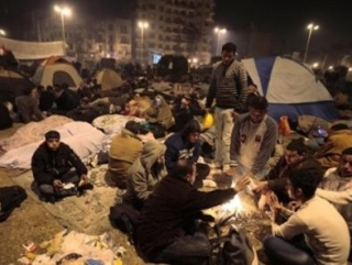 Пошел девятый день революции в Египте