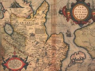 До начала 18 века место России на картах занимала Тартария