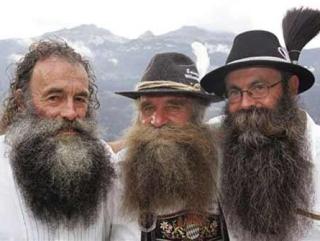 Эй товарищ, почему с бородой?