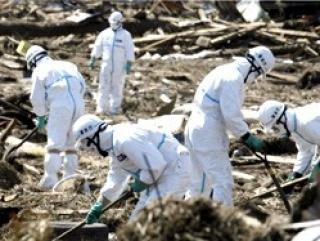 Радиация мешает японцам захоронить около 1000 тел