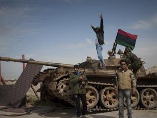 Ливия: с неба на землю?