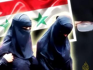 В Сирии разрешили преподавать в никабе