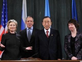 Встреча ближневосточного квартета вновь откладывается