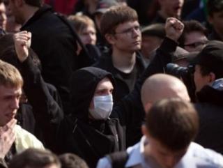 Митинг с ксенофобским подтекстом