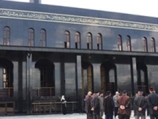 В Чечне построена мечеть, похожая на Каабу