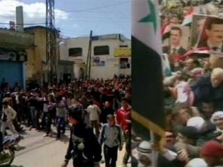 В Сирии разогнали демонстрацию студентов