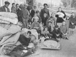 43,6% от общего числа крымских татар погибли вследствие массового выселения народа