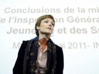 Министр спорта Франции Шанталь Жуанно