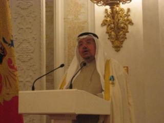 Адель аль-Фалях выступает в Кремле