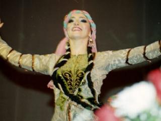Гастроли азербайджанского ансамбля танца прошли с аншлагом