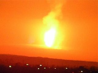 В Египте подорвали газопровод, идущий в Израиль