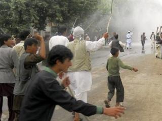Афганцы протестуют против убийства детей