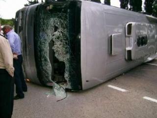 Автобус с россиянами разбился в Турции