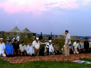 Мусульманский палаточный лагерь разобьют возле Тюмени