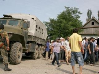 В Дагестане прошел митинг в защиту мусульман