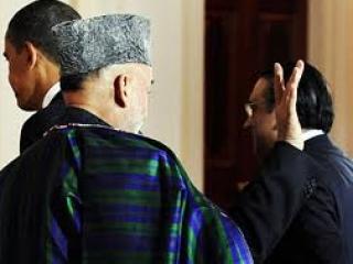Зардари встречается с Карзаем на фоне обострения
