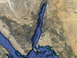 Мост соединит Саудовскую Аравию и Египет
