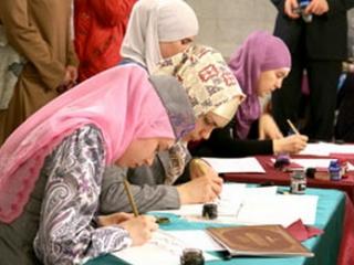 Старт общероссийского конкурса по арабской каллиграфии