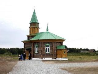 В сибирской деревне Чумык открылась уникальная мечеть