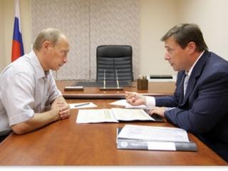 Владимир Путин встречается с главами СКФО