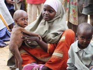 Африканские страны переживают сильнейшую за 65 лет засуху, спровоцировавшую повсеместный голод