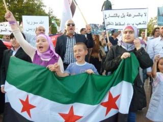 В Москве прошел митинг сирийской оппозиции