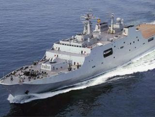 Армия Китая обзаводится десантными кораблями