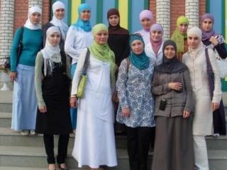 Современные мусульманки не затворницы