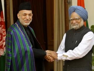 Карзай будет дружить с Дели против Пакистана