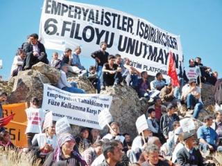 В Турции прошли акции протеста против размещения ЕвроПРО