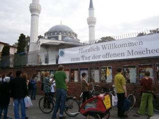 Мечети Германии распахнули двери. Фоторепортаж.