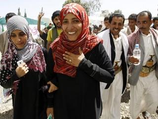 Йеменская активистка получила Нобелевскую премию мира