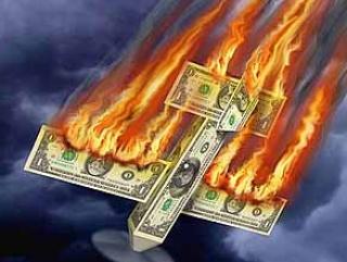 В блогах: Кого придавит рухнувший доллар?