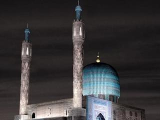Мечеть украсят подсветкой к Курбан-байраму