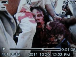 Каддафи мертв — Национальный переходный совет Ливии. Фото