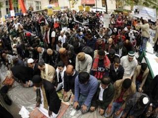 """Мусульмане США поддержали движение """"Захвати Уолл-стрит"""""""
