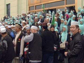 Рекордное число китайских мусульман осуществили свою мечту