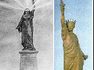 Статуя Свободы могла бы стоять у входа в Суэцкий канал