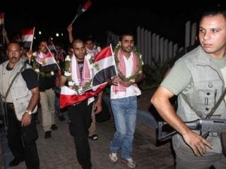 25 египетских узников покинули тюрьмы Израиля